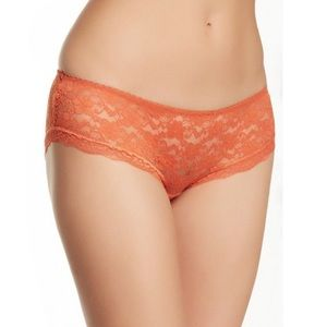 FREE PEOPLE NWT Sheer Lace Hipster Panty Briefs